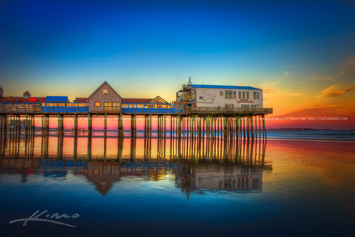 wpid19765 Old Orchard Beach Sunset at the Pier in Maine jpg 135