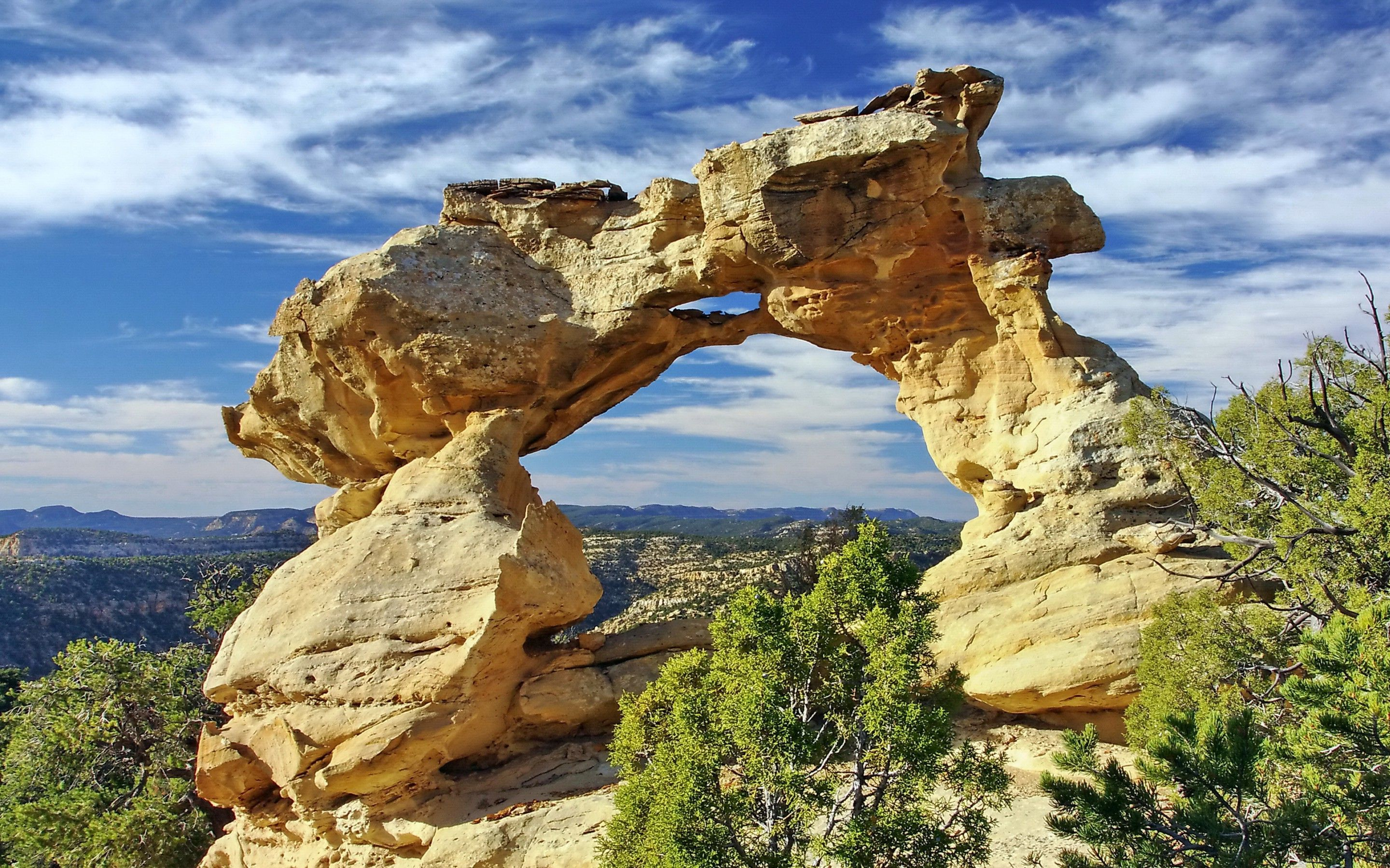 Arch Cliff Mountain Sky Cloud Nature 2880x1800 hdw eweb4 com 1000