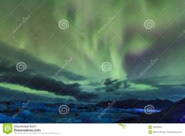 northern lights aurora borealis over jokulsarlon lagoon iceland 290