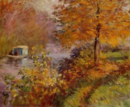 Arts Everyday Living: Autumn in Art This Week—Monet, A Boat Ride on 821