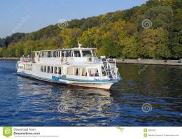 White River Boat Autumn Season Royalty Free Stock PhotographyImage 1033