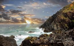 Awesome Byron Bay shore Australia wallpaper 591