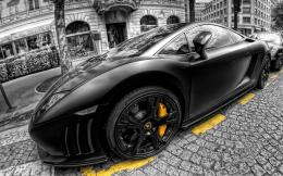 Lambroghini Gallardo Hdr HD behang 1920x1080 1366x768 1680x1050 1875
