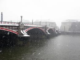 Westminster Bridge in Snow jpg 874