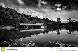 Black And White Landscape Royalty Free Stock PhotoImage: 35079985 327