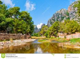 Beautiful Mountain Landscape Of Olympos Royalty Free Stock Photography 1575