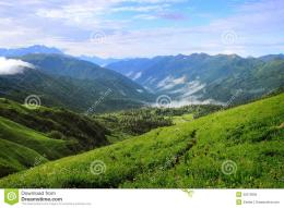 Beautiful Mountain Landscape Stock PhotoImage: 32313950 1723
