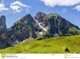 Beautiful Mountain LandscapeDolomites, Italy Stock PhotoImage 1073