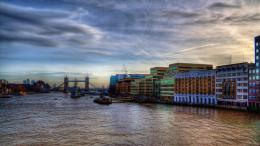 the beautiful london thames river hdr wallpaperForWallpaper com 1055