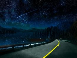 3D Beautiful Night Sky Wallpapers Free Download | Hd Wallpapers 2u 1543