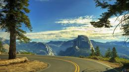 Desktop wallpapers Beautiful Road, Yosemite National Park, California 462