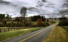 USA Country road Desktop Wallpapers and Backgrounds 1075