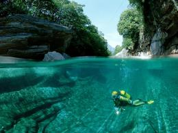 Crystal Clear Waters of Verzasca River, Swiss Alps | I Like To Waste 235