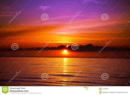 Beautiful Sunset On The Beach Royalty Free Stock PhotographyImage 478