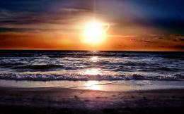 beach sunset wallpaper 1277