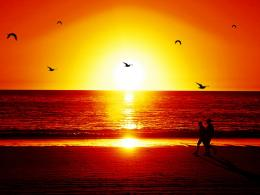 beautiful sunset in beach wallpaper free beautiful sunset in beach 297