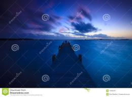 Beautiful Sunset Over A Lake Royalty Free Stock PhotographyImage 1269