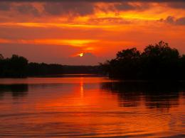 Sunset over Lake Barkley by McAllisterBryant on DeviantArt 1834