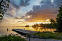 Beautiful Sunset over a Swedish Lake jpg2772×1836 1030