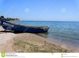 Old Fishing Boat On The Seashore Stock PhotoImage: 42293122 232