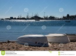 Boats At Cape Cod Seashore Stock ImageImage: 16468921 1464