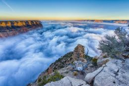 Fog morning Grand Canyon Arizona wallpaper | 2048x1365 | 354905 1413