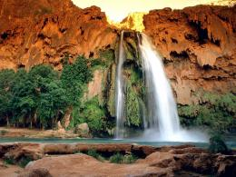 Havasu Falls, Havasupai Reservation, Grand Canyon National Park 951