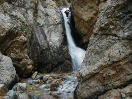 Waterfall Hiking: Hidden Falls, Big Cottonwood Canyon 1180