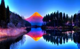 Colorful Landscape Reflection Wallpaper HdFree Android Application 232