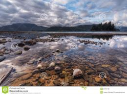 Colorful Rocks And Sweeping Landscape Reflection Royalty Free Stock 1471
