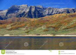 Timpanogos Reflection Stock PhotoImage: 45580808 483