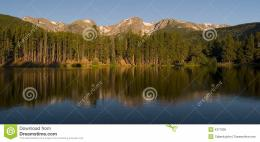Rocky Mountain Morning Royalty Free Stock ImageImage: 4377806 443