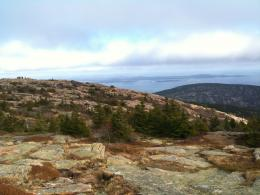 The view from the top of Cadillac Mountain in Acadia National Park 256