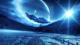 winter forests design fantasy art digital art space creative wallpaper 557