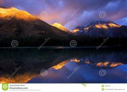 First Sunlight On Mountain Tops Stock PhotoImage: 1804750 714