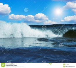 Gigantic Wave In Atlantic Ocean Stock PhotographyImage: 14770362 850