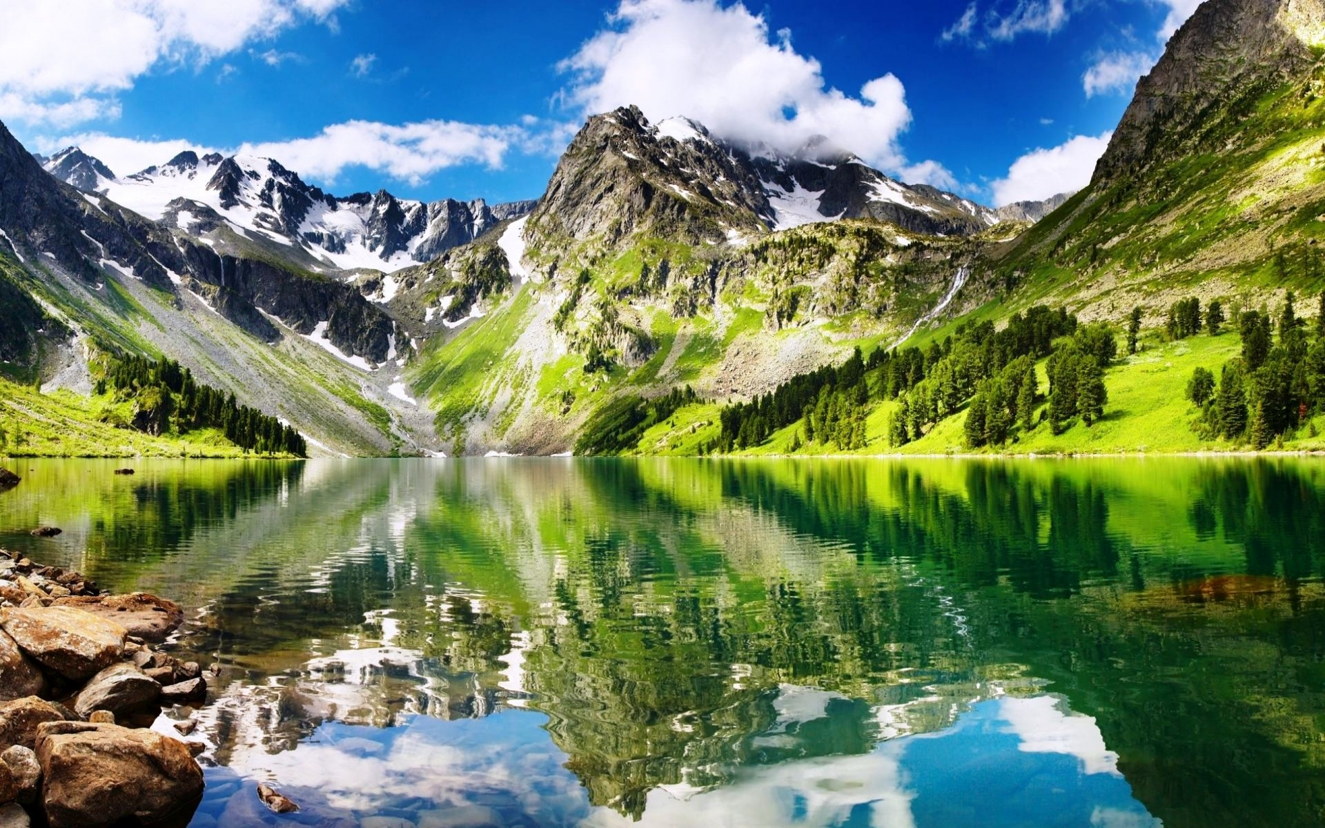 Green Mountains | 1920 x 1200 | Download | Close 1075