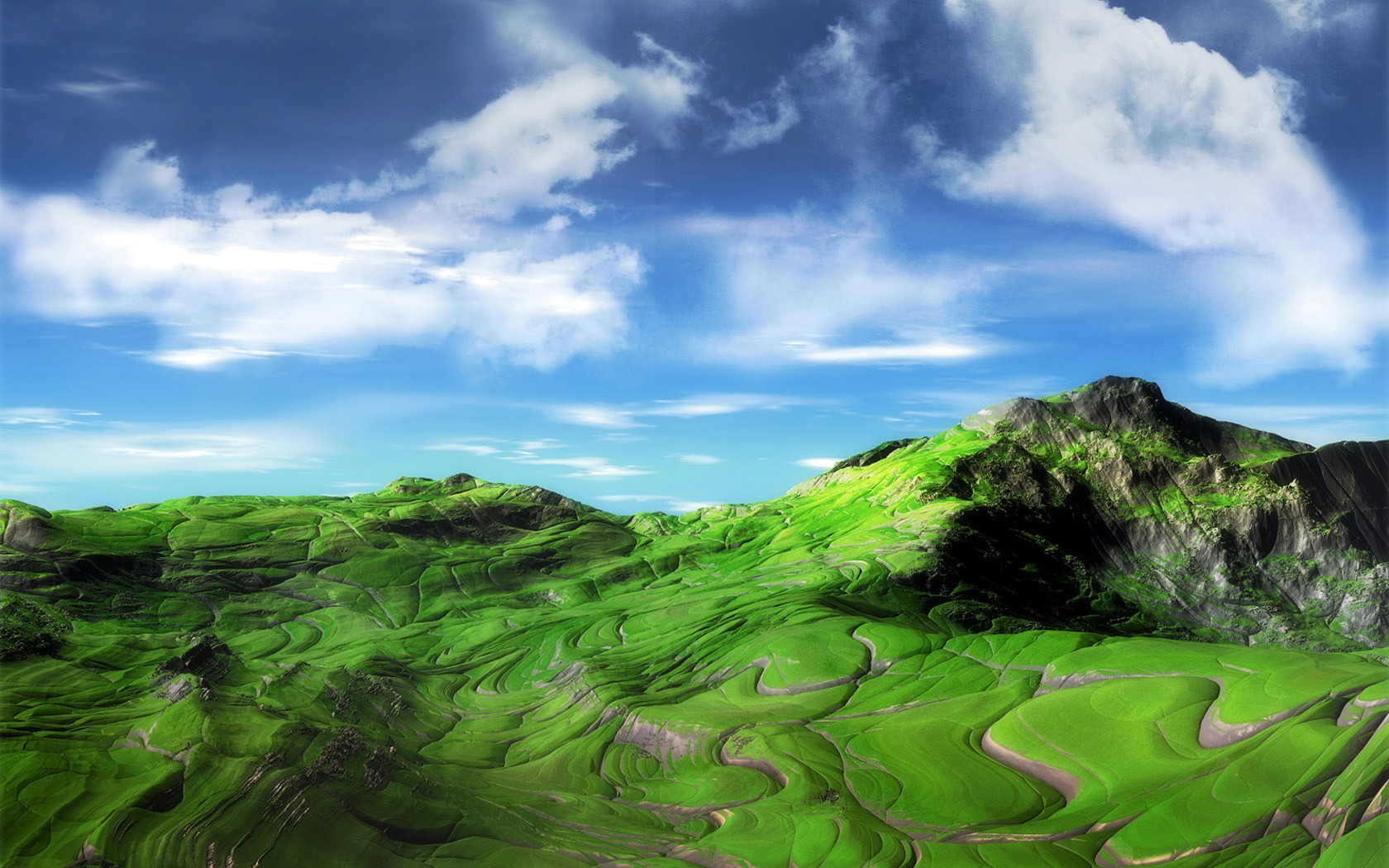 Green Mountains by Breanna 1141