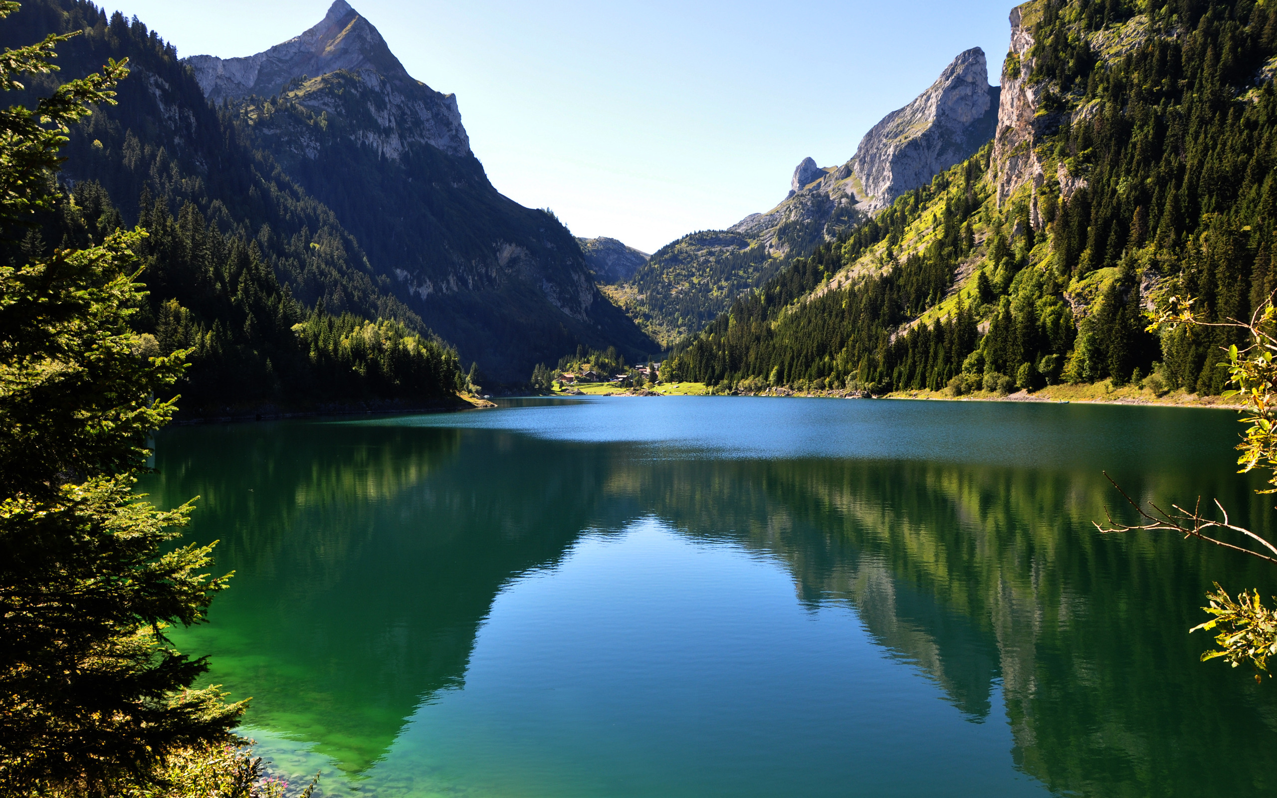 Green Mountains Wallpapers HD 1928