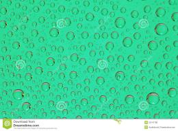 Green Water Drops Background Macro Stock PhotoImage: 29747780 1633