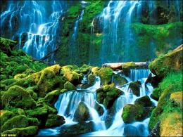 Green Waterfall photo waterfall green jpg 1621