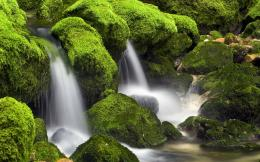 waterfall with green rocks hd wallpapers download waterfall with green 1001