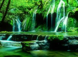 Green waterfall | HDwallpaperUP 1775