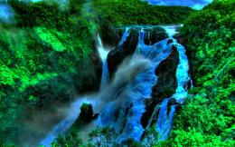Green Waterfall 699