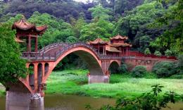 Chinese, the bridge in the junglewallpaperForWallpaper com 906