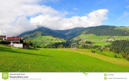 Valleys And Hills In Austria Stock PhotographyImage: 34775662 1782