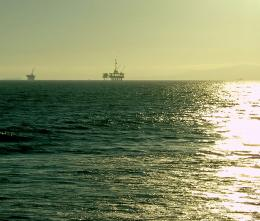 Oil Rigs Off Huntington Beach 934