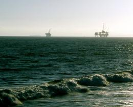 California Oil Rigs Off Huntington Beach | Love\'s Photo Album 262
