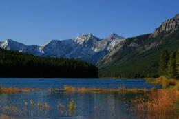 PanoramioPhoto of Lower Kananaskis Lake in early fall 249