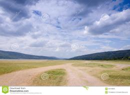 Landscape of mountain sky and cloud dry field in Thailand 222